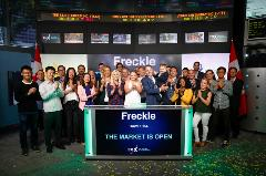 2019 - Freckle opens the TSXV - AJE